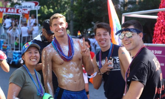 [Read at ThinkProgress] With LGBTQ rights under siege, out athletes march for equality