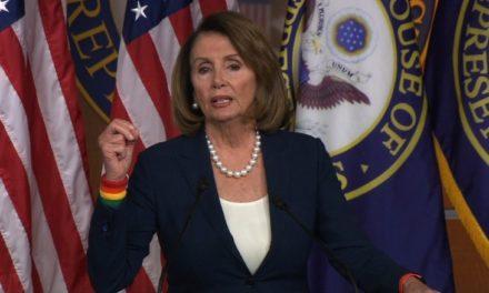 [Read at CNN] Nancy Pelosi: Donald Trump 'needs sleep'