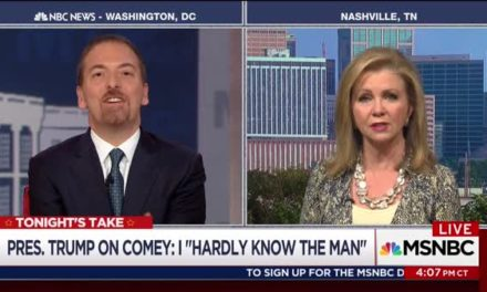 [Watch at Crooks and Liars] Chuck Todd Scolds Marsha Blackburn Over Russia: 'Where Is The Urgency?'