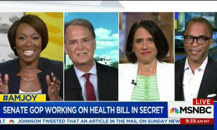 [Watch at Crooks and Liars] Joy Reid Pummels GOP Strategist For Lying About How ACA Passed