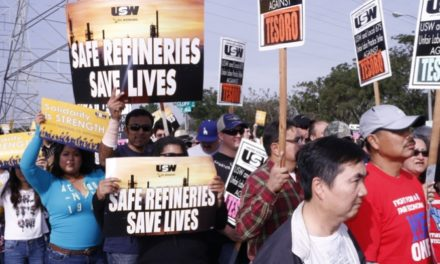 [Read at Labor Notes] How We're Surviving Right to Work: Oil Refinery Workers Get People in Motion