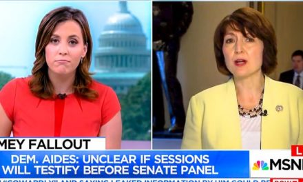 [Read at Raw Story] 'The media is trying to brainwash America': GOP rep. lashes out when MSNBC asks if Trump should testify