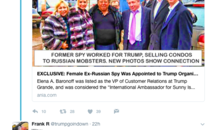 [Read at Bipartisan Report] Images Of Eric Trump Seen In Russia Leaked To U.S. Media – Trump Is Busted