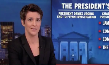 [Read at Politicus USA] Rachel Maddow Explains How Trump Is Doomed After Committing 'Textbook Obstruction Of Justice'