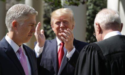 [Read at the New Republic] Trump's Judicial Picks Are Keeping Republicans Happy—and Quiet