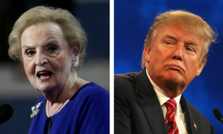 Secretary of State Madeline Albright Blasts Trump for Helping ISIS (The Proud Liberal)