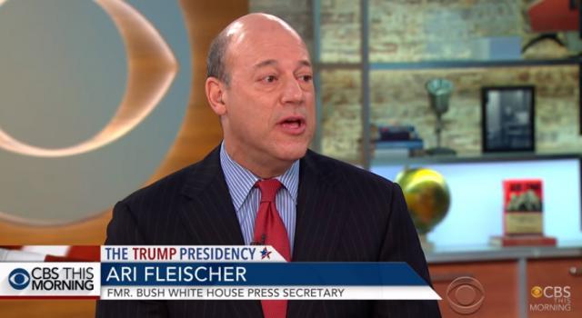 [Read at Crooks and Liars] Ari Fleischer's Eternal Shriek To Trump