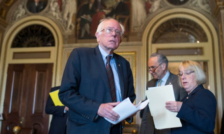 [Read at Roll Call] Sanders Gets First Endorsement for 2020 Presidential Race