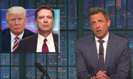 [Watch at Vox] The best late-night comedy reactions to James Comey's testimony