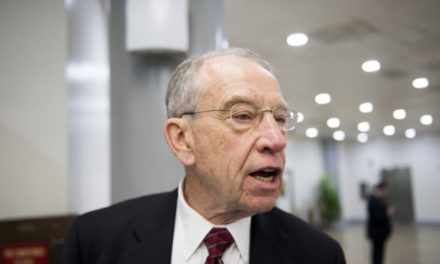 [Read at Talking Points Memo] Grassley Blasts DOJ Opinion That Trump Can Ignore Democrats' Info Requests