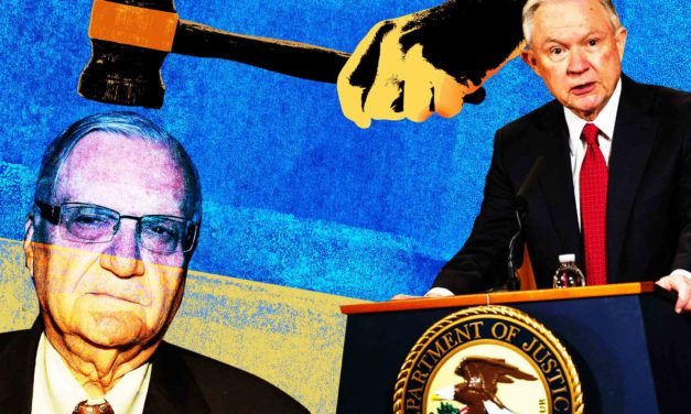 [Read at the Daily Beast] As Justice Charges Sheriff Joe Arpaio With Contempt, He Calls On Jeff Sessions To Bear Witness For Him