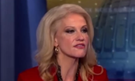 [Read at Wonkette] Did Kellyanne Conway Just Shove Her Foot Up Her Husband's Ass Over His Mean Trump Tweet?