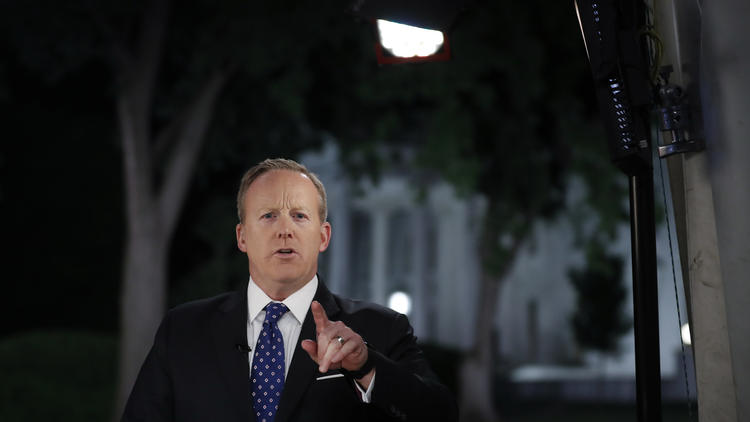 [Read at Los Angeles Times] Spicer's on-camera time is cut. At least we have the memories