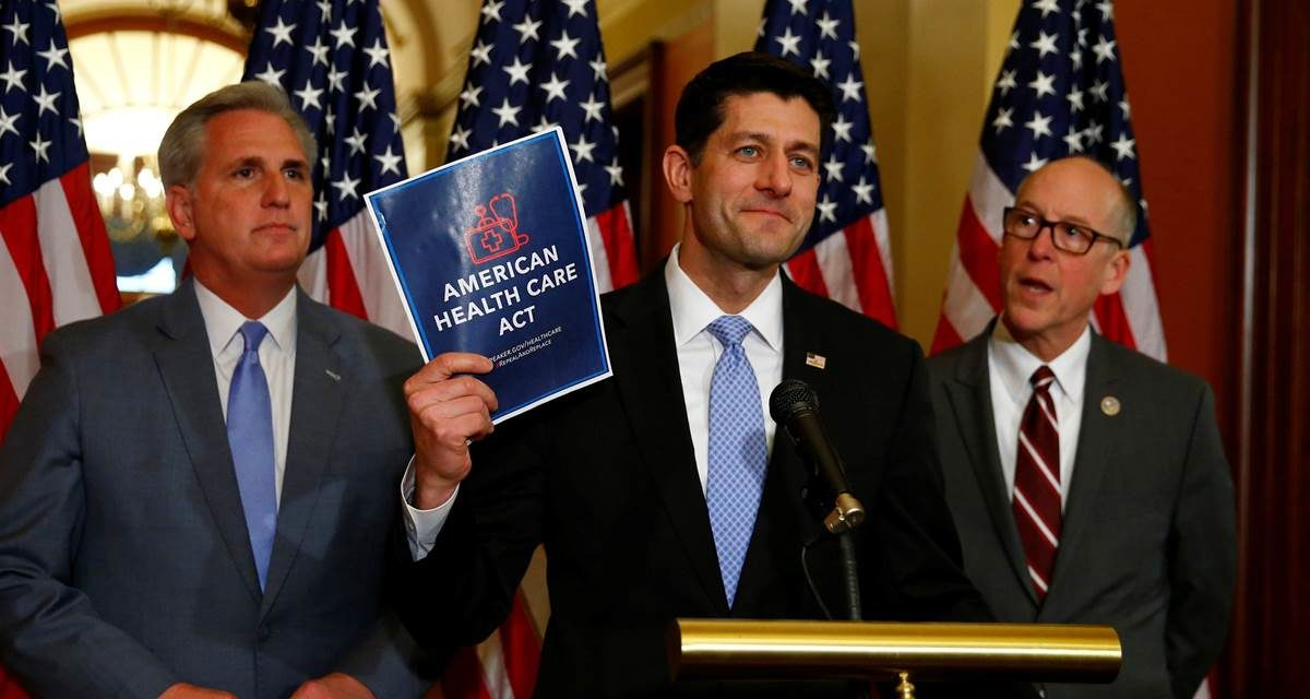 Republican Opposition to Their Party's Health Care Bill Grows (NBC News)