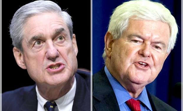 [Read at Salon] Newt Gingrich changes his mind about Russia special prosecutor Robert Mueller