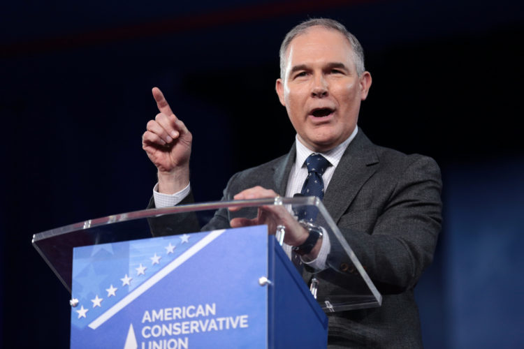 EPA Administrator Scott Pruitt Unfazed By Deadly Nature Of His Ideological Agenda (Shadowproof)