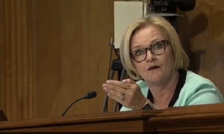 [Watch at Shareblue] Watch Sen. Claire McCaskill unload on Senate GOP for trying to repeal Obamacare in secret