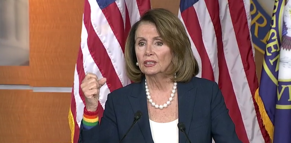 """[Read at Shareblue] Pelosi: """"I ask the question, what do the Russians have on Donald Trump?"""""""