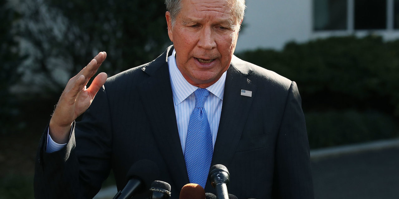 [Read at BuzzFeed News] John Kasich Sounds Like He's Over The Republican Party