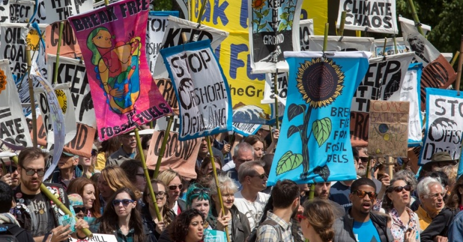 [Read at Common Dreams] For This Climate Fight: Less PowerPoint. More Power.