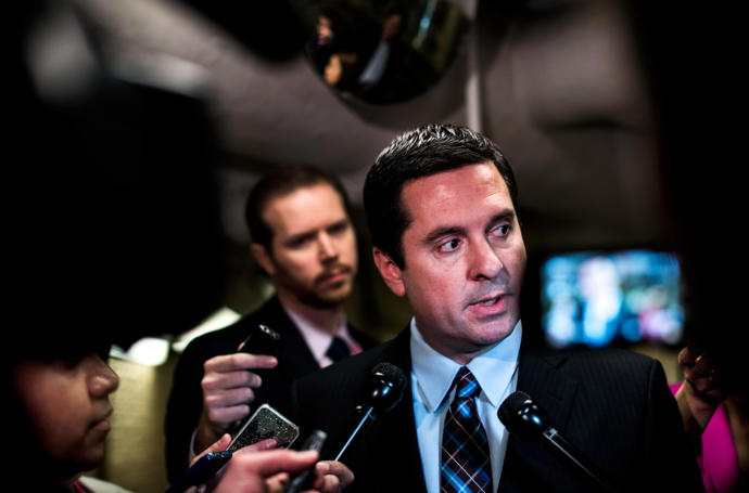 [Read at The New Yorker] Nunes Says He Held Russia Hearings Alone In His Apartment And They Went Great