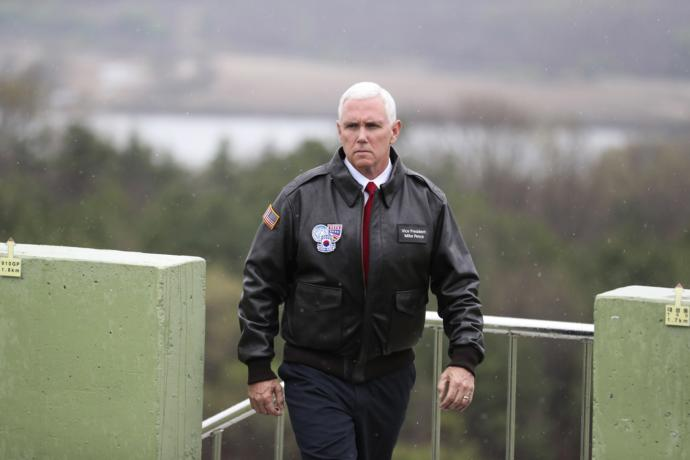 [Read at The New Yorker] North Korea Offers Unconditional Surrender After Mike Pence Angrily Squints At It