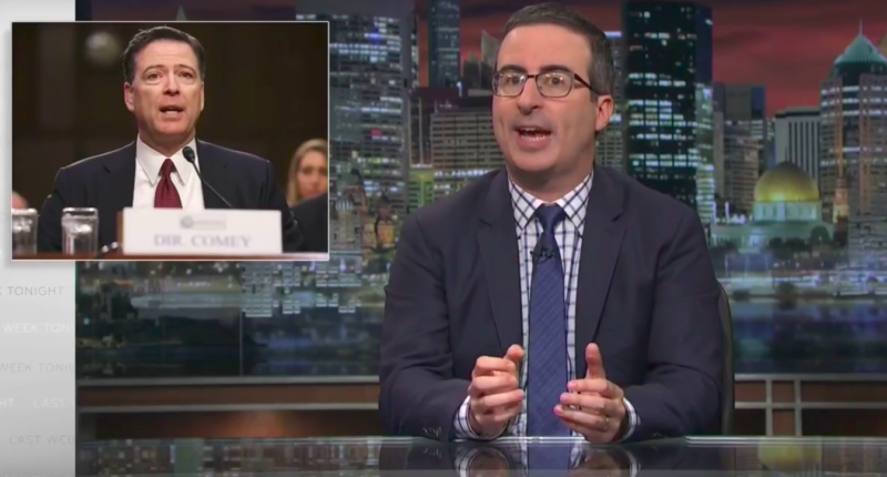 [Read at Raw Story] John Oliver: Donald Trump Lies So Much He's Become A 'Walking Logical Paradox'